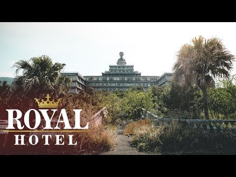 ABANDONED ROYAL HOTEL - ON VOLCANIC ISLAND!!