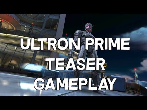 5 Star Ultron Prime Teaser Gameplay - 100% Labyrinth of Legends Reward - Marvel Contest of Champions