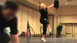 Bora Bora - ZUMBA Demo at the 2010 Southern California Clogging Convention