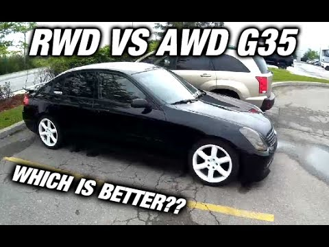 Awd vs Rwd G35 - Which Is Better? - G35 Vlog