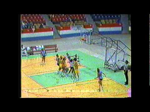 Molly Bolin vs Nancy Lieberman WABA 1984 Womens American Basketball Association