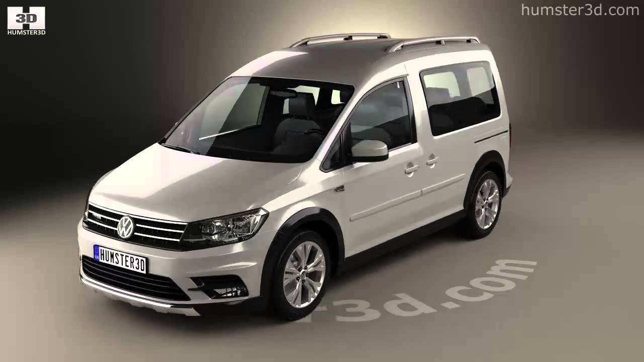 volkswagen caddy alltrack 2016 3d model by youtube. Black Bedroom Furniture Sets. Home Design Ideas
