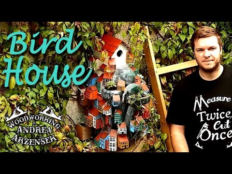 Making a Mountain Village Bird House (Summer
