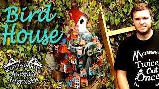 Mountain Village Bird House (summer's Challenge 2014) - Ep 011