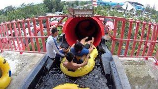 Boomeranggo Water Slide at Jogja Bay Waterpark