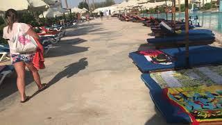 Siva Sharm resort путь на пляж, обзор территории отеля