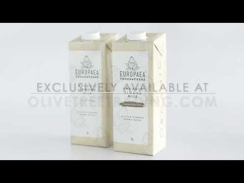 Organic Almond Milk Online from Europaea Vegan Farms at Olive Tree Trading India