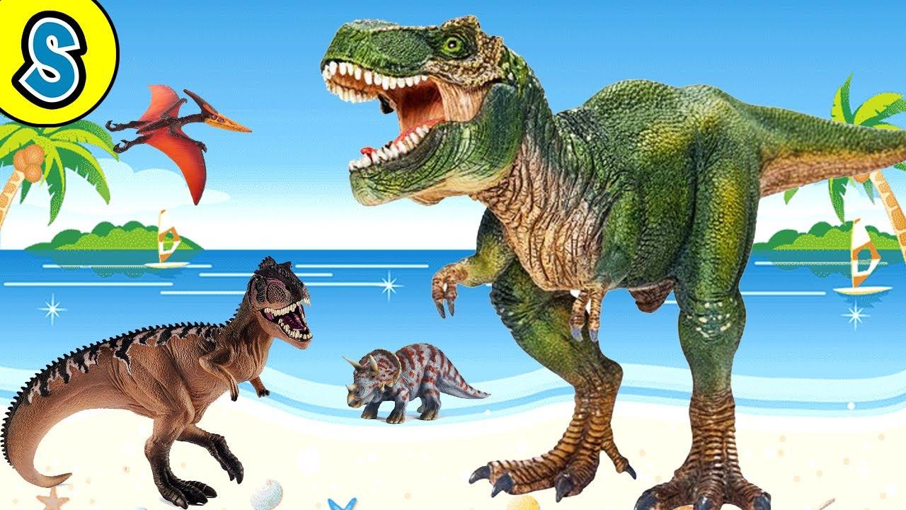 Schleich Dino Island Egg - Skyheart's Dinosaur toys for kids jurassic world fight