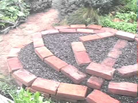 The Nature Learning Centers Concentric Adobe Brick Raised Bed