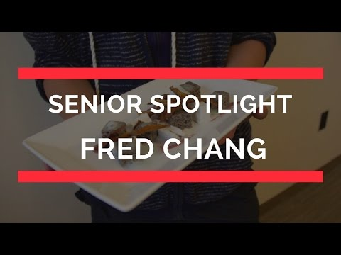 Senior Spotlight: Fred Chang, Inspired Pastry Creator