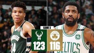 Giannis scores 32 points in Bucks' dominant Game 3 win over Celtics | NBA Highlights