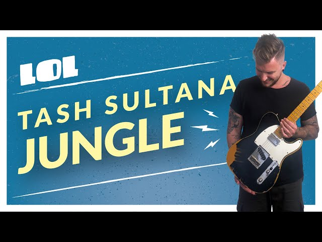 HOW to PLAY... Tash Sultana, JUNGLE [ L.O.L. ] Guitar + Loop Station