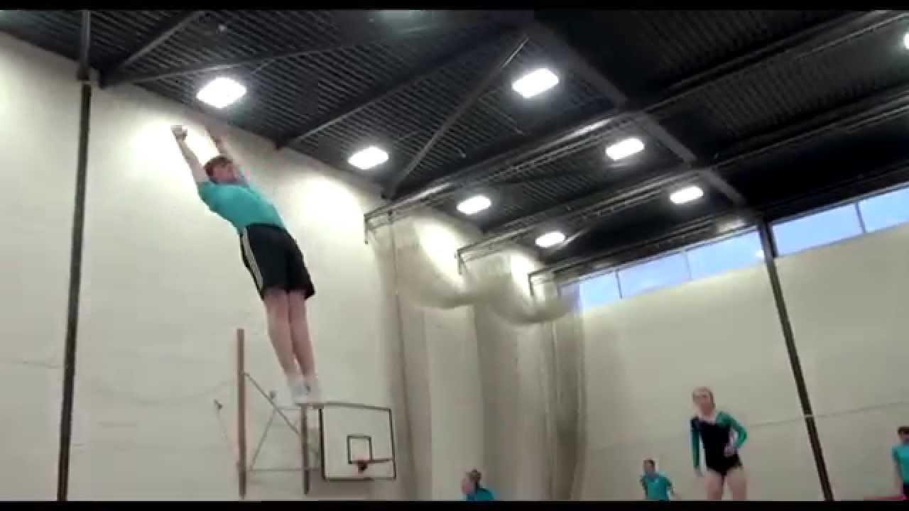 g club bredsten trampolin
