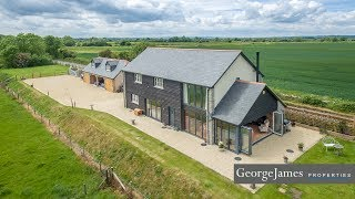 GeorgeJames Properties - Kingsmoor House - Long Sutton - Property Video Tours Somerset