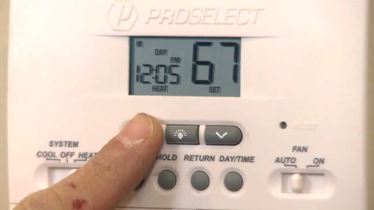 How To Install A Programmable Thermostat With Mensch With A Wrench Youtube