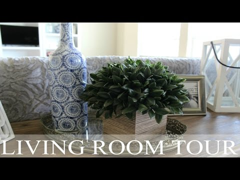HOUSE TOUR | Foyer & Living Room Tour | Decor Tips + Ideas | Rustic Chic