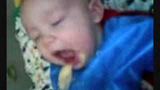 Wille äter palsternacka