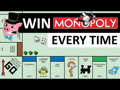 HOW TO WIN MONOPOLY EVERY TIME