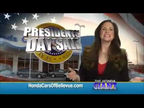Nice 2013 Presidents Day Sale Commercial For Honda Cars Of Bellevue ...an Omaha  Honda Dealer!   YouTube