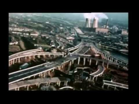 Birmingham's Spaghetti Junction turns 40 (BBC1 West Midlands coverage)