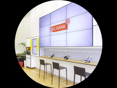 CFG Bank - Visite guidée de nos agences