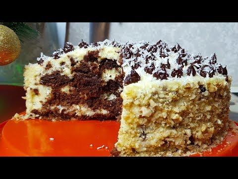 Торт Постный Панчо, цыганка готовит. Gipsy Cuisine.🎂