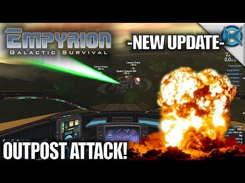 Empyrion Galactic Survival | New Update Outpost Attack | Let's Play Gameplay Alpha 6 | S11E15