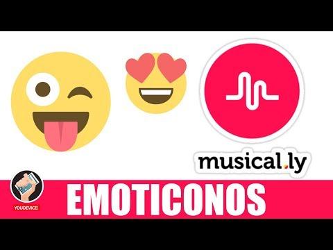 Como poner o agregar emoticonos(emojis) a tus Musical.ly 2 versiones