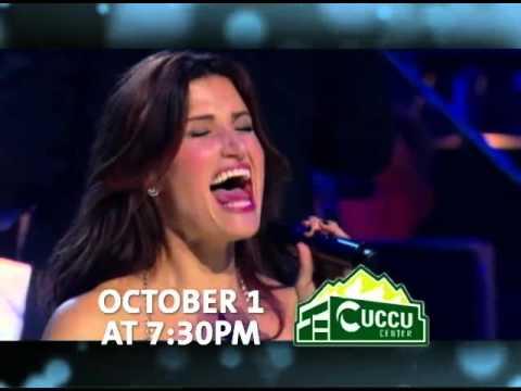 Idina Menzel October 1, 2015 UCCU Center @ UVU