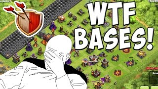 WTF BASES! || CLASH OF CLANS || Let's Play CoC [Deutsch/German Android iOS PC HD]