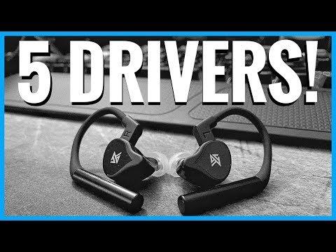 5 Driver True Wireless Earbuds!!! - KZ E10 TWS First Look!