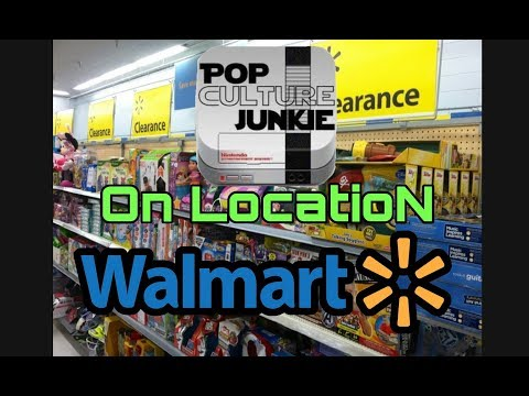 Pop Culture Junkie On LocatioN WALMART Toy Hunting & Clearance