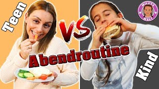 KIND vs TEENAGER Abendroutine - Mileys Welt
