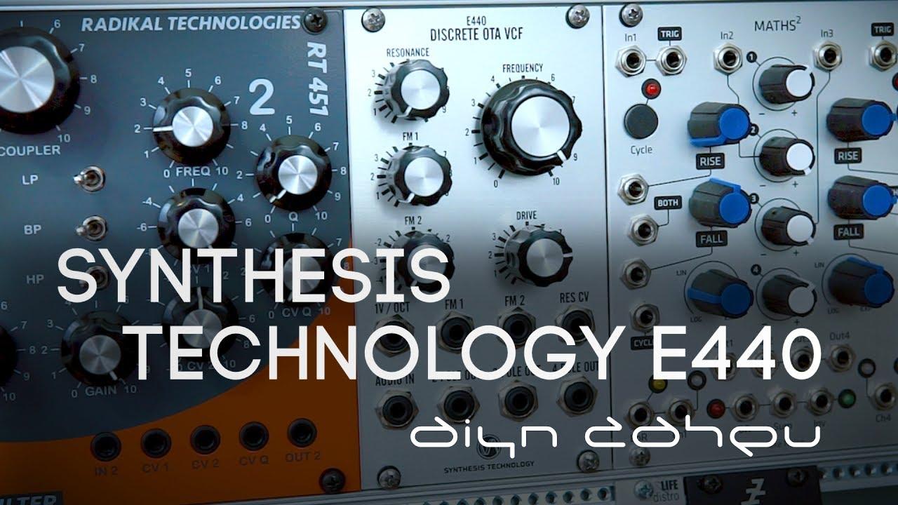 Synthesis Technology - Eurorack E440