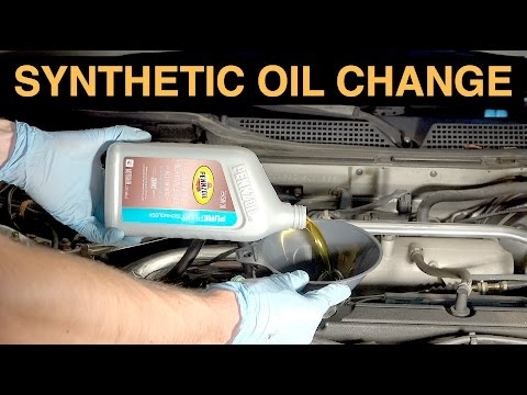 How often do you have to change synthetic car oil 16
