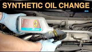 How To Change Your Oil - Synthetic Oil Change DIY