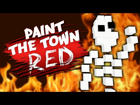 I'VE BEEN SENT TO HELL! - Pirate Cave & More Workshop Creations - Paint The Town Red