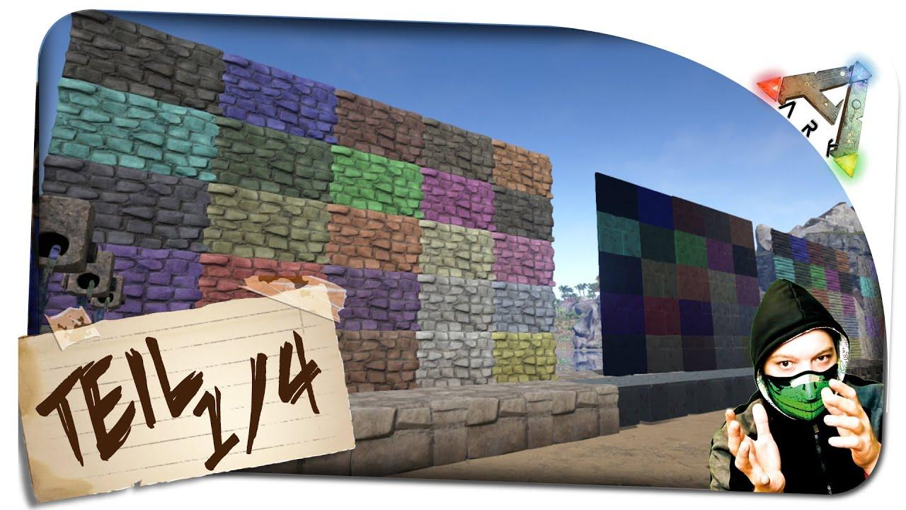 ark survival evolved farben mischen teil 1 4 ark. Black Bedroom Furniture Sets. Home Design Ideas