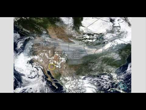 Wildfire Smoke Covers Half USA!