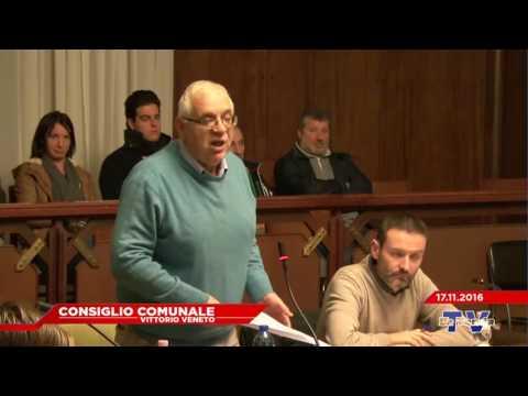 CONSIGLIO COMUNALE VITTORIO VENETO - Seduta del 17.11.2016