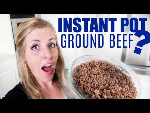 How To Cook Ground Beef In The Instant Pot - Perfect For Beginners!
