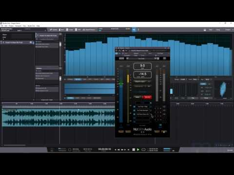 Nugen Audio's Master Check Pro Checking Levels