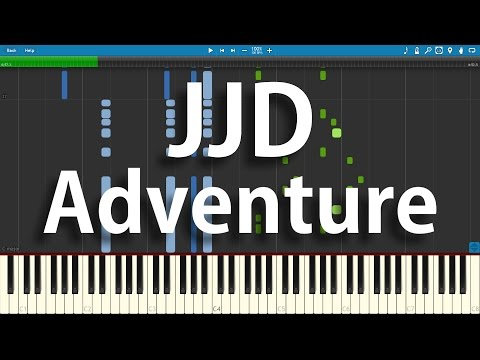 JJD - Adventure | Synthesia Piano Cover