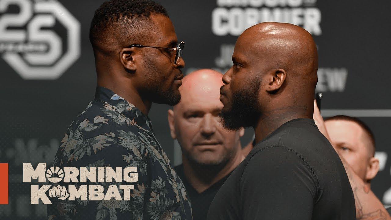 Should Derrick Lewis Get A Rematch Vs. Francis Ngannou If He Beats Aleksei Oleinik?   MORNING KOMBAT
