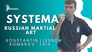 Systema Russian Martial Art  Lesson 6.  Fear. By Konstantin Komarov
