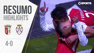 Highlights | Resumo: Sp. Braga 4-0 Feirense (Liga 18/19 #13)