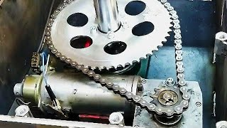 Making Motorized Rotary Table