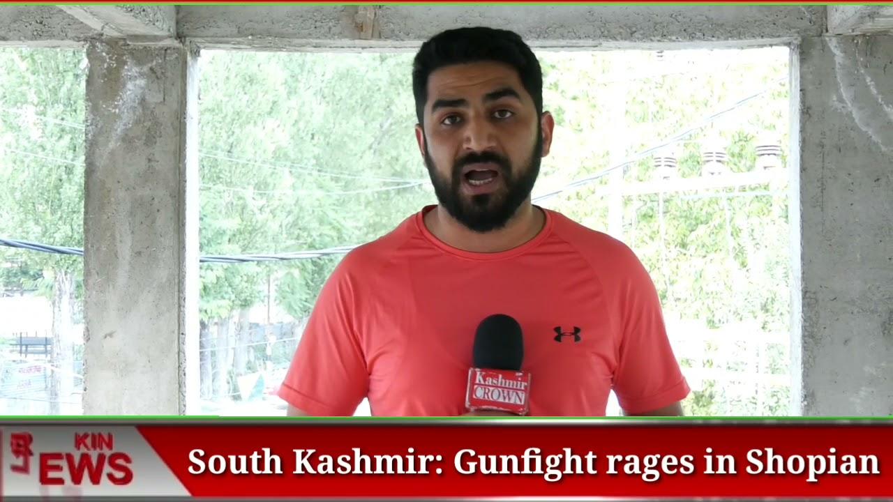 South Kashmir: Gunfight rages in Shopian