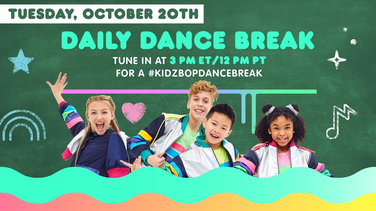 KIDZ BOP Daily Dance Break [Tuesday, October 20th]
