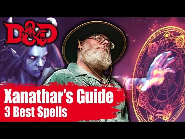 Top 3 D&D Spell Picks From Xanathar's Guide to Everything for 5E D&D